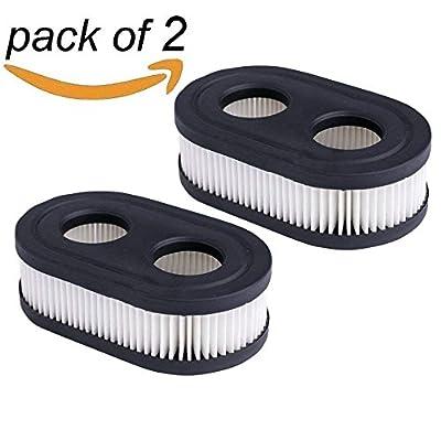 HEYZLASS 2Pack 593260 798452 Air Filter Cartridge, for Briggs & Stratton 550E thru 725EXI Series Engine, Lawn Mower Air cleaner