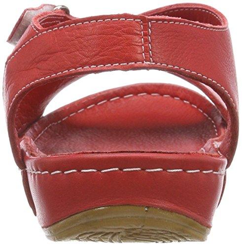 Conti Rojo 0025784 Andrea 021 Punta con Abierta Mujer Sandalias Rot 4dCdBxRqcw