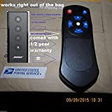 Remote control for Bose Cinemate Series II, IIGS & 1SR can run the Solo , Solo 10 & solo 15 also