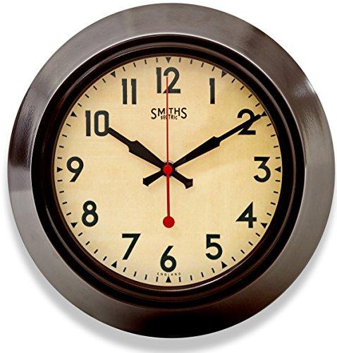 Roger Lascelles Clocks LON/Smiths/Brown Wall Clock, ()