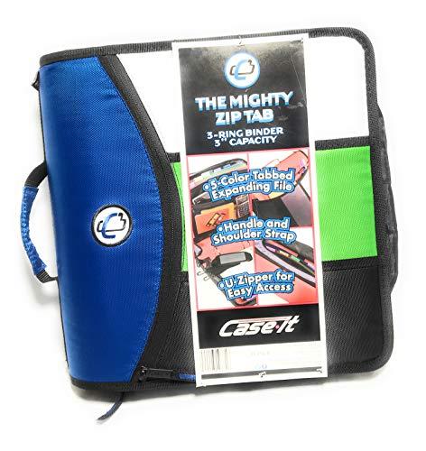 The Mighty Zip Tab 3-Ring Zipper Binder
