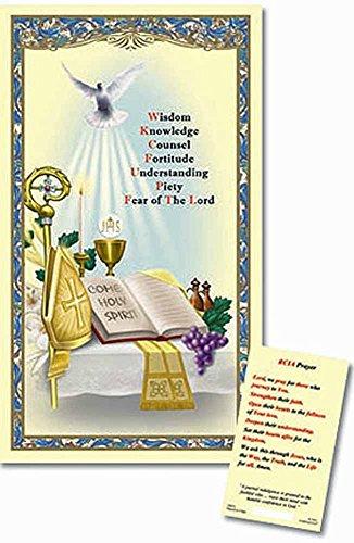 Rcia Laminated Holy Card