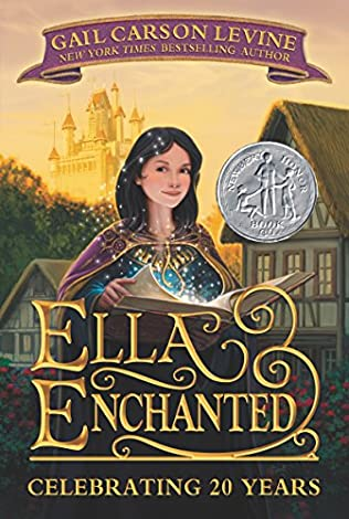 book cover of Ella Enchanted