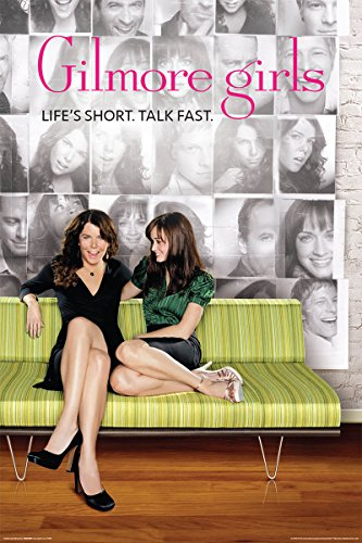 Gilmore Girls Lorelai and Rory Green Couch Comedy Drama TV T