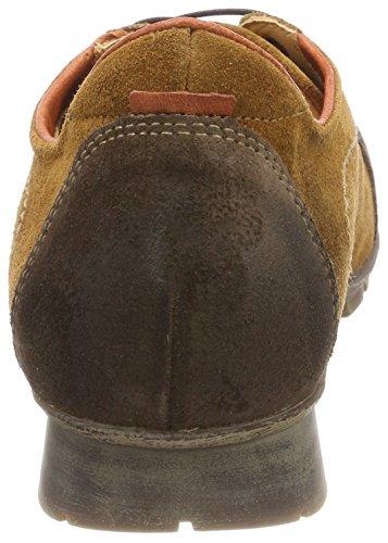Derby Menscha de Think Kombi Marrón 54 Mujer Rum para Cordones Zapatos 282073 fXtfx