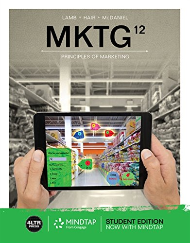 MKTG (with MindTap Marketing, 1 term (6 months) Printed Access Card) by Cengage Learning