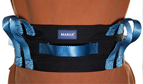 FLASH-SALE-Original-Physical-Therapy-Transfer-Walking-Gait-Belt-with-7-Hand-Grips-Easy-Release-Plastic-Buckle-Lift-straps-for-patient-METAL-Buckle-Also-Available-in-Plastic-Buckle