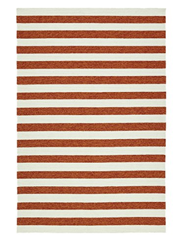 (Kaleen Rugs Escape Indoor/Outdoor Rug, Paprika, 5' x 7' 6