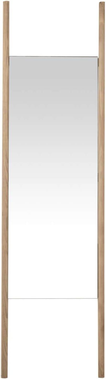 Standspiegel Eichenholz Dunkel 01 mokebo/® Wandspiegel Der Hochbeinige mit Holzrahmen in vielen Farben auch als Standspiegel oder Ganzk/örperspiegel
