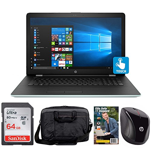 "Click to buy HP 17-bs006cy Core i3-7100 8GB 2TB HDD 17.3"" HD+ WLED Touch Screen Laptop Bundle with Elite Suite - From only $1019"
