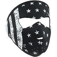 ZANheadgear Unisex-Adult Neoprene Black and White Flag...
