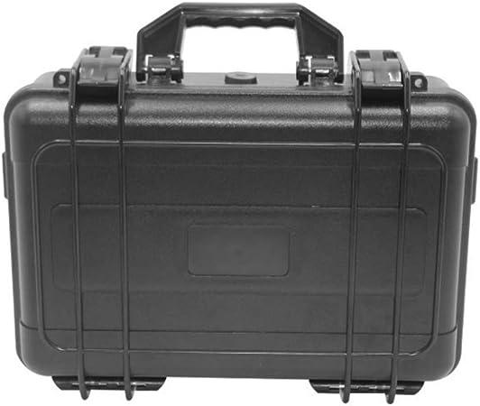 Caja Herramientas, Estuche rígido grande, estuche rígido resistente a la intemperie a prueba de golpes, con interior de espuma personalizable para cámaras SLR, instrumentos de prueba y accesorios: Amazon.es: Hogar
