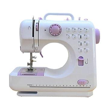 GSKTY Máquina de coser miniatura multifunción eléctrico doméstico 12 * 24 * 28 cm