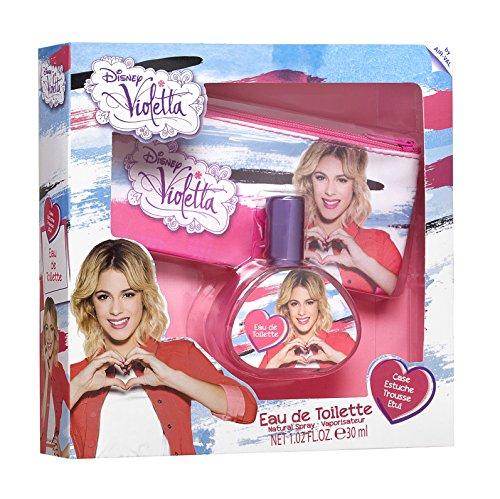Air-Val Disney Violetta / Geschenk-Set: Eau de Toilette 30ml + Kosmetiktasche - für Kinder
