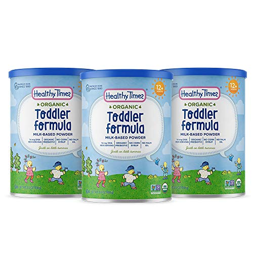Healthy Times Organic Toddler Formula, 31.7 Ounce (Pack of 3)
