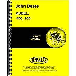 John Deere 400 500 Series Engine Parts Manual (JD-