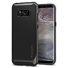 Spigen Neo Hybrid Designed for Samsung Galaxy S8 Plus Case (2017) - Gunmetal