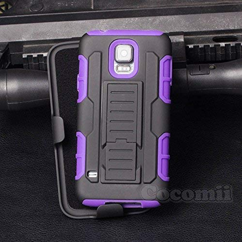 on sale 8806e 6c197 Cocomii Robot Armor Galaxy S5 Active Case New [Heavy Duty] Premium Belt  Clip Holster Kickstand Shockproof Bumper [Military Defender] Full Body  Rugged ...