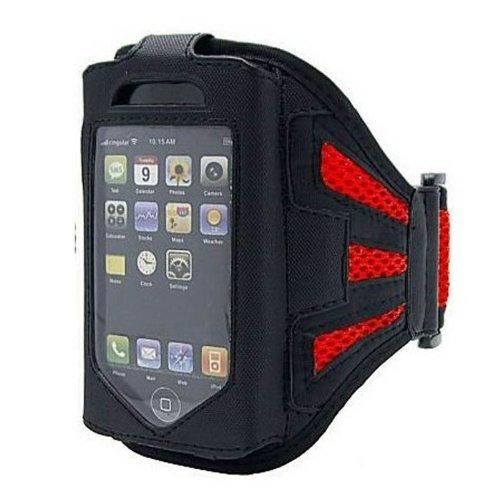 Super Best maglia Red Esecuzione della copertura della cassa del bracciale per il iPhone 4S / 4