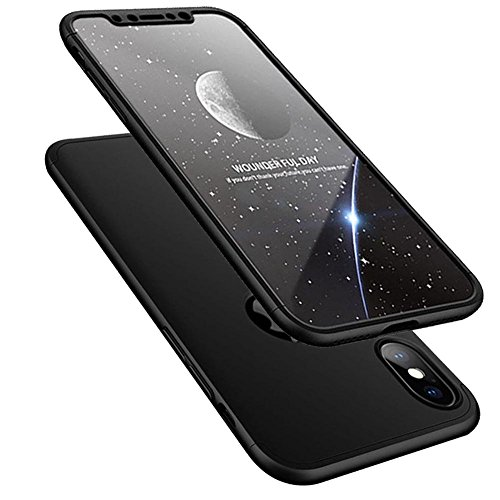 iPhone-X-10-Case-HONTECH-3-in-1-Ultra-Thin-PC-Hard-Cover-360-Degree-Protection-for-Apple-iPhoneX-10