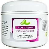 Sensitive Skin Body Moisturizer & Hot Cream Fat Burner for Women and Men – Body Cream with Antioxidant Herbs Botanicals…