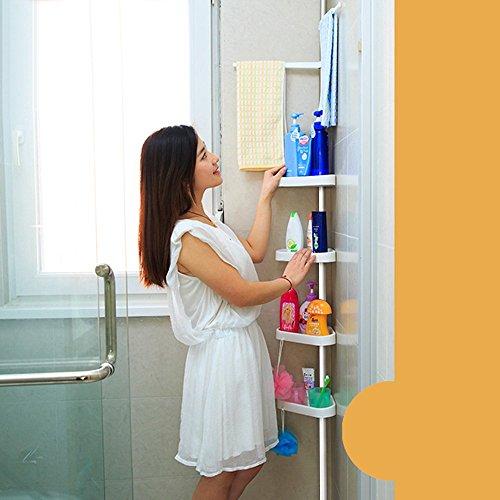IKAYAA H16864 Steel 2-layer Kitchen Bathroom Space Saver Cabinet Storage Shelf (Type 2) (Height Space Saver)