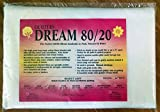 Quilter's Dream 80/20, White, Select Loft Batting - Throw Size 60''X60''