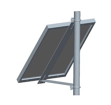 Amazon.com: Kit de montaje de panel solar para mástil de un ...