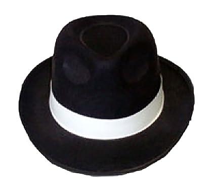 Islander Fashions Mens Brown Black Cowboy Hat Adults Suede Look Wild West Hat Fancy Dress Accessory One Size 2k4nJuM