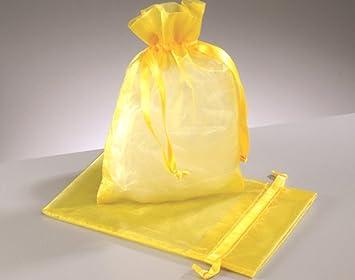 Amazon.com: Venta – 12 grandes bolsas de regalo de organza ...