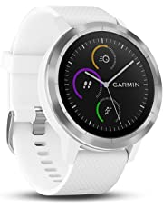 Garmin Vivoactive 3 GPS Smartwatch with Built-In Sports Apps and Wrist Heart Rate, White