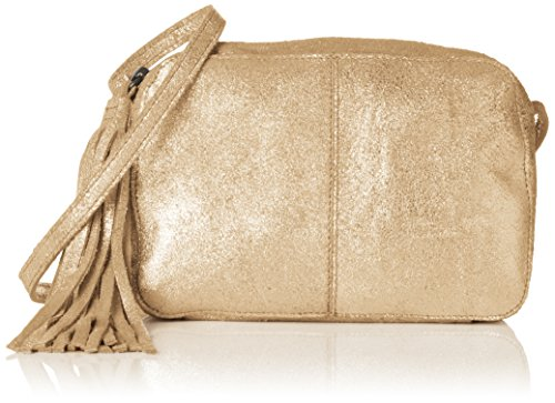 Pcmylisia Bandoulière Or Pieces Bag Cross Sacs Over gold Colour Leather dPWqPR7p