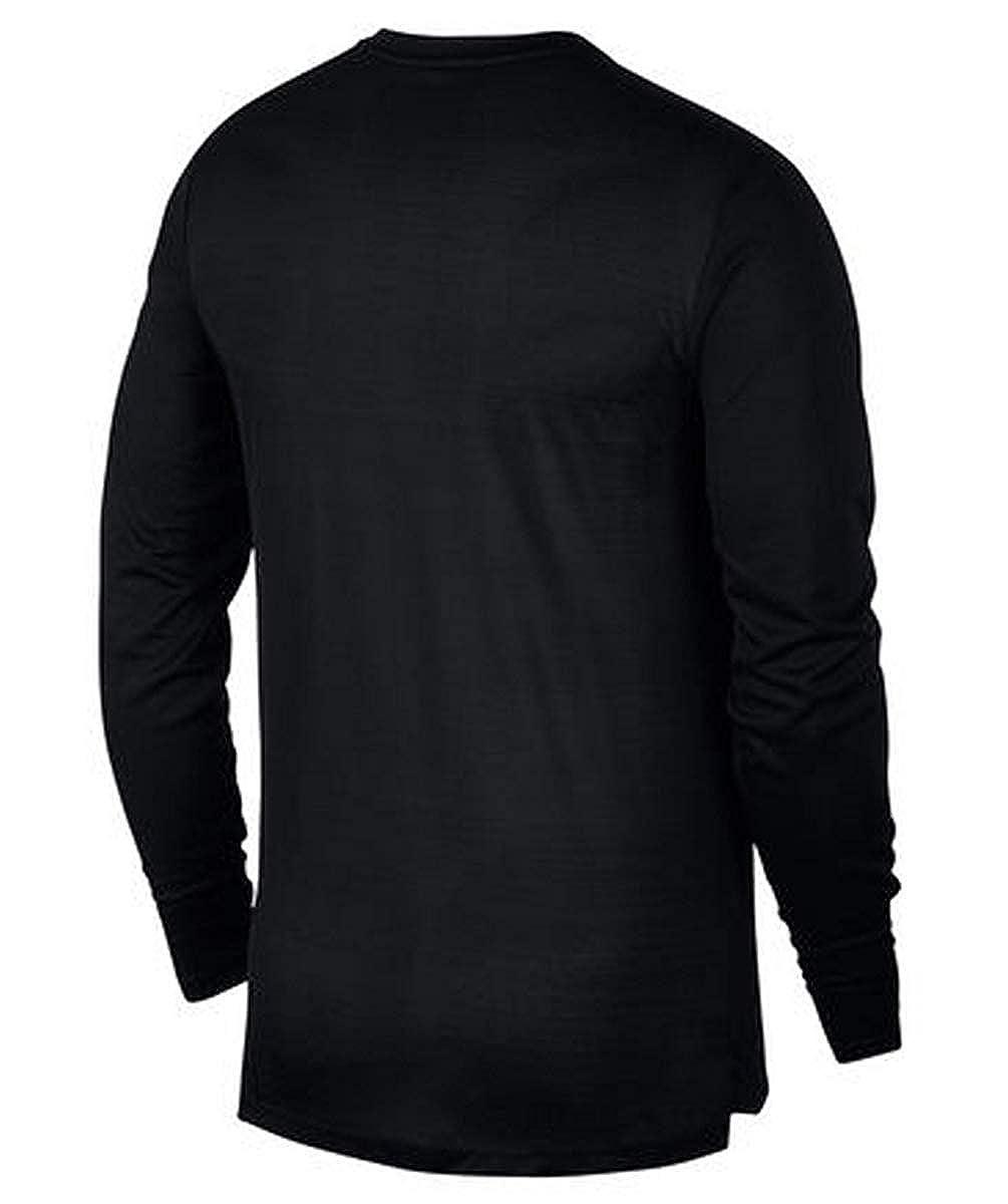 Nike Tailwind Mens Long-Sleeve Running Top