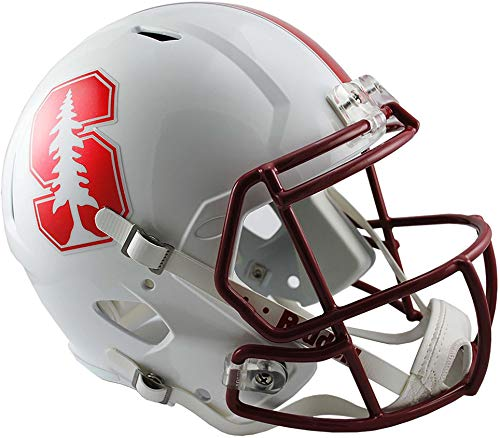 Sports Memorabilia Riddell Stanford Cardinal Revolution Speed Full-Size Replica Football Helmet - College Replica Helmets