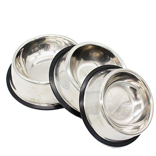 8 inch dog bowl set - 4