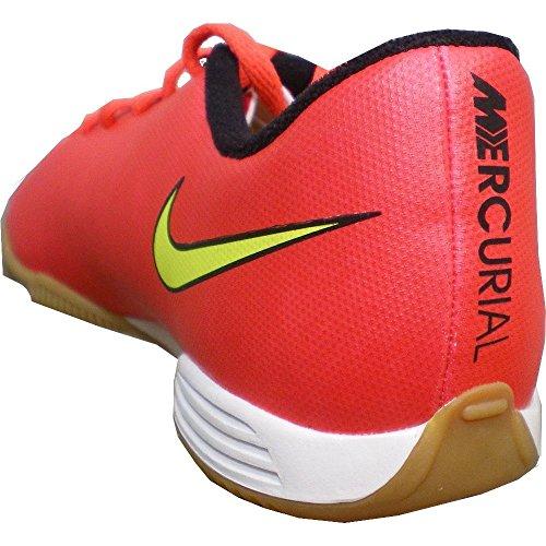 Nike Jungen Schuhe MERCURIAL VORTEX II IC Rot / Gelb