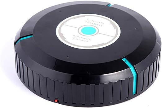 alloet 9 Inch Touchless automático limpiador Smart Lazy inteligente robot negro alimentado por 4 pcs AA recargable: Amazon.es: Hogar