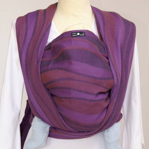Didymos Baby Carrier Organic Wrap Sling, Waves Elder, Size 2