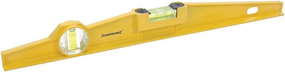 Silverline SL20 Ger/üstbau-Wasserwaage 400 mm