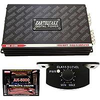 Earthquake Mini D1000 2nd Gen Monoblock 1000W Car Amplifier + 4 Gauge Amp Kit
