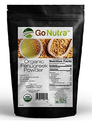 Fenugreek Powder Organic Trigonella Foenum Grae product image