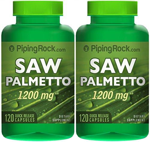 Saw Palmetto 1200 мг 2 бутылки х 120 капсул