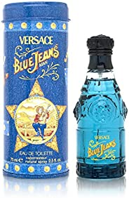 Blue Jeans By Gianni Versace For Men, Spray 2.5-Ounces