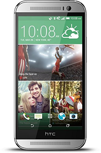 HTC One M8 Android OS, Silver 32GB (AT&T) (Certified Refurbished)