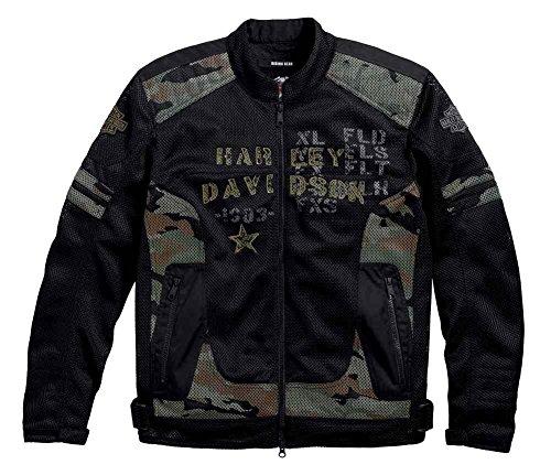 Harley Mesh Jacket (Harley-Davidson Men's Midville Functional Mesh Riding Jacket 97140-17VM (L))