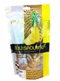 4 Packs of Pineapple Dehydrated. Fat Free, Extra Low Sugar, Natural Sweet Juicy. Premium delicious Fruit Snack By Viva.(100 G/ Pack)
