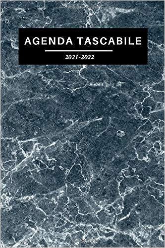 Amazon.com: AGENDA TASCABILE 2021 2022: Pianificazione mensile a 2