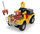 Dickie Toys Fireman Sam Quad Bike Mercury (Remote Control Vehicle)