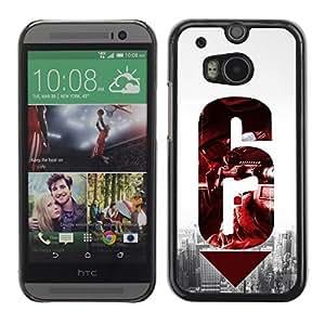 Abisail-Diy 6 - Aluminum Metal&Hard Plastic Back case cover - Black - crGv85bNjQ4 HTC One M8
