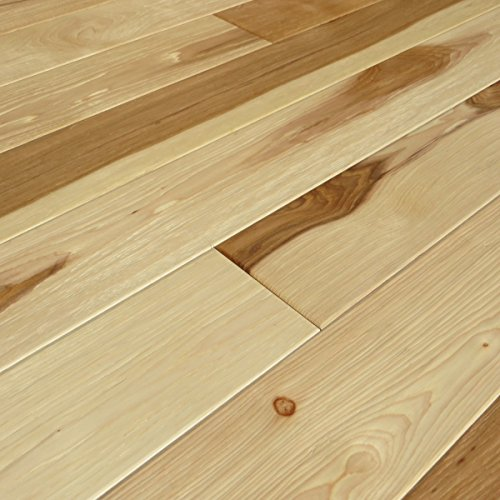 Hickory Natural Hand Scraped UV Oiled Engineered Wood Floor (Sample) (Hickory Wood Flooring compare prices)